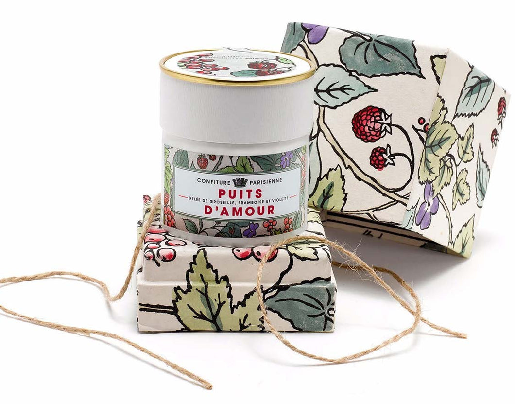 CONFITURE PARISIENNE ANTOINETTE POISSON BOX - JELLY OF CURRANT, RASPBERRY AND VIOLET