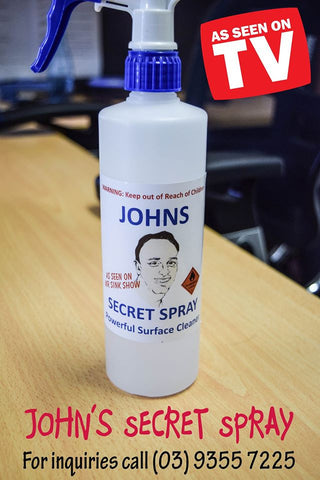 John's Secret Spray