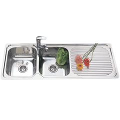 1200mm Grande Double Bowl Sink