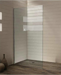10mm FRAMELESS FIXED PANEL SHOWER SCREEN