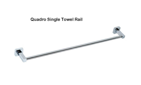 QUADRO TOWEL BAR 600MM