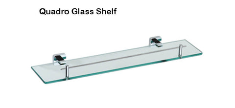 QUADRO GLASS SHELF
