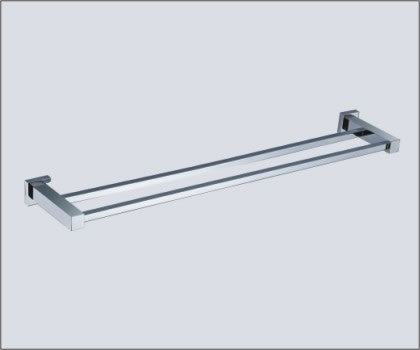 ROLA 600MM DOUBLE TOWEL RAIL