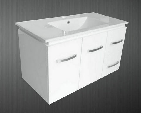 900mm SURREY WALL HUNG VANITY UNIT