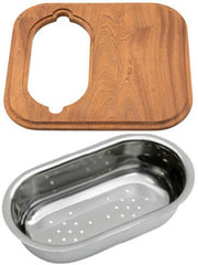 GIORDANO CHOPPING BOARD AND COLANDER