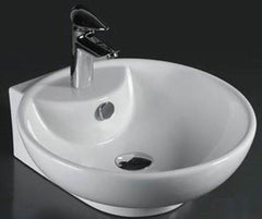 ALFA ABOVE COUNTER BASIN WHITE