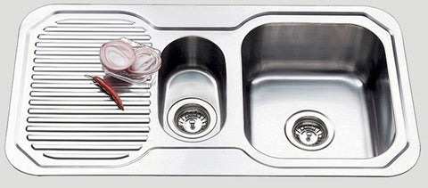 890mm Ariette 1&1/4 Bowl Sink