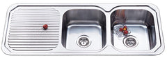1180mm Ariette Double Bowl Sink