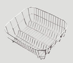ARIETTE STAINLESS STEEL BASKET 380X315MM