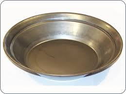 12 Inch Carbon Spun Steel Gold Pan