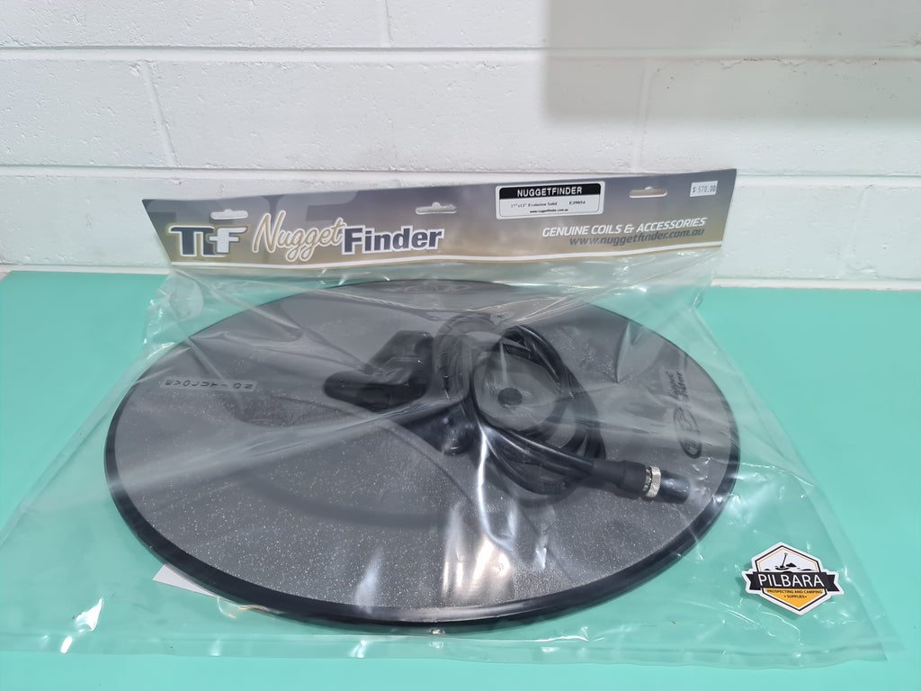 "Nugget Finder 17"" x 13"" Evolution Solid Coil"