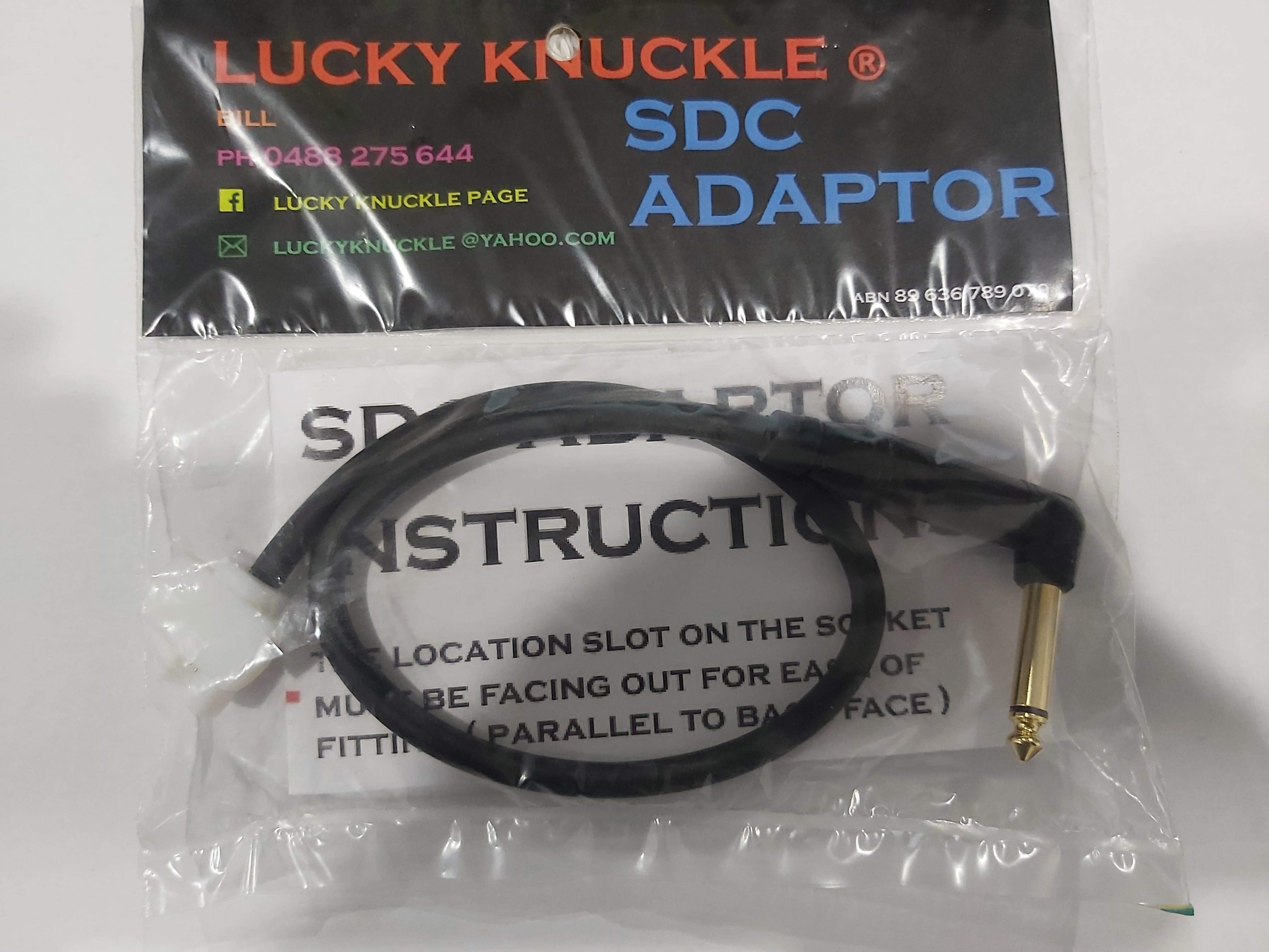 Lucky Knuckle SDC 2300 Adaptor Right Angle
