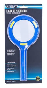 COB LED LIGHTED MAGNIFYING GLASS
