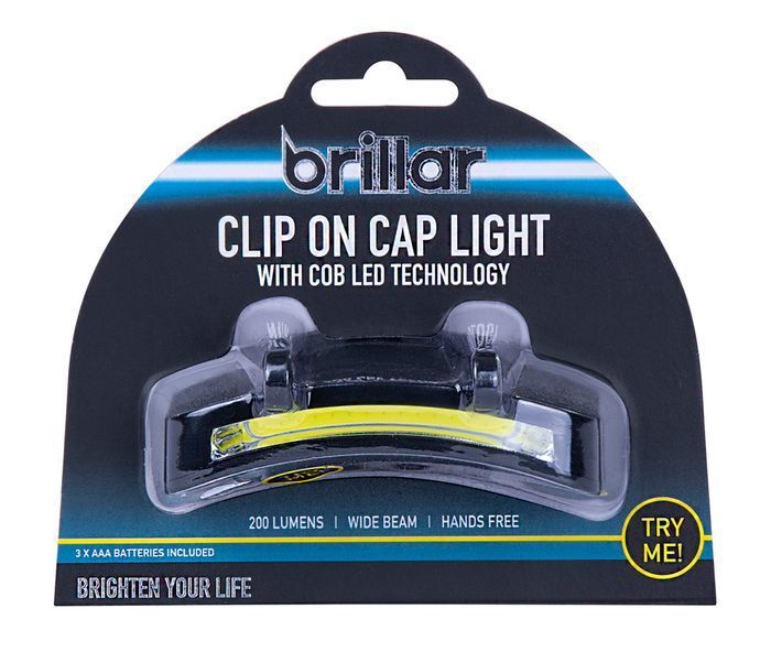 COB LED CLIP ON CAP LIGHT