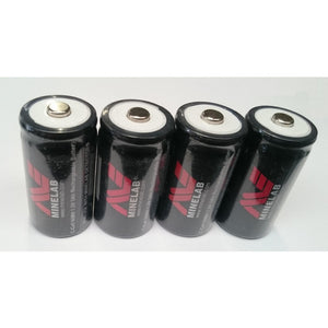 Battery C Cell Minelab (set of 4)