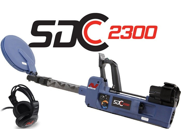Minelab SDC 2300 Detector (with $150 free credit of your choice)