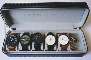 Men's Watch and Accessories Case