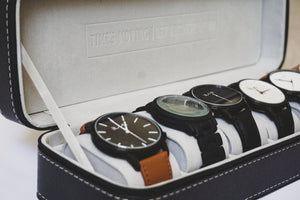 Men's Watch Case - 6 watches