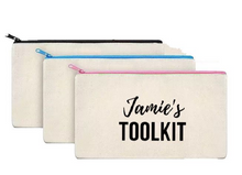 Load image into Gallery viewer, Pencil Case/ Teachers Toolkit - personalised