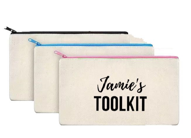 Pencil Case/ Teachers Toolkit - personalised