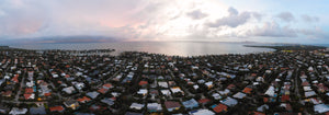 Pano of Key Biscayne Florida