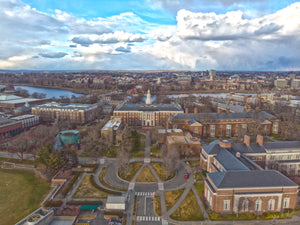 Golden Hour Over Harvard