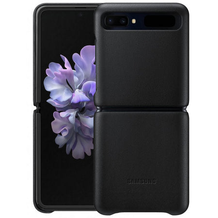 Z Flip Protective Leather Cover