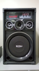 "Som 10"" Active Speaker SE-107 Bluetooth"