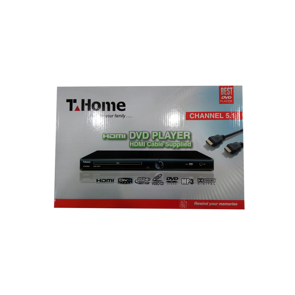 T Home DVD Player (912H)
