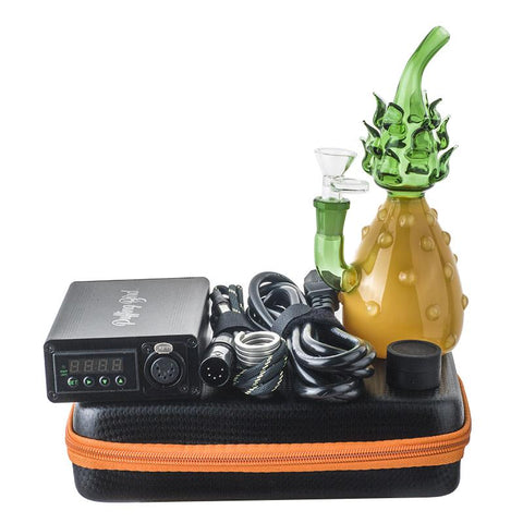 Enail Dab Kit W/ Heady Glass Pineapple Bong Bundle | Free Shipping