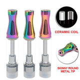 Skinny Round Metal Tip 510 Thread Cartridge | For Sale | Free Shipping