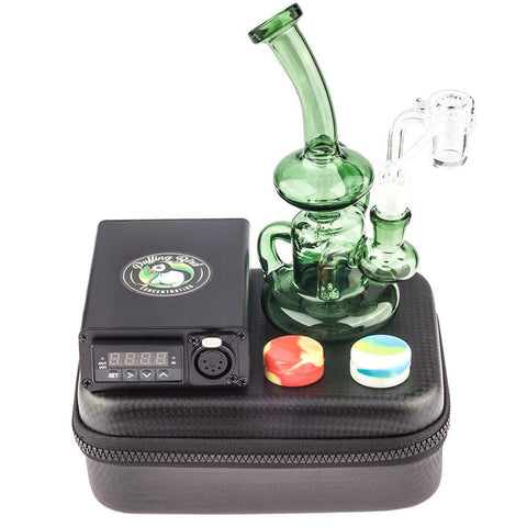 Quartz Enail Kit W/ Banger Hanger Dab Rig Bundle | Enail Dab Kits For Sale | Puffing Bird | Online Headshop