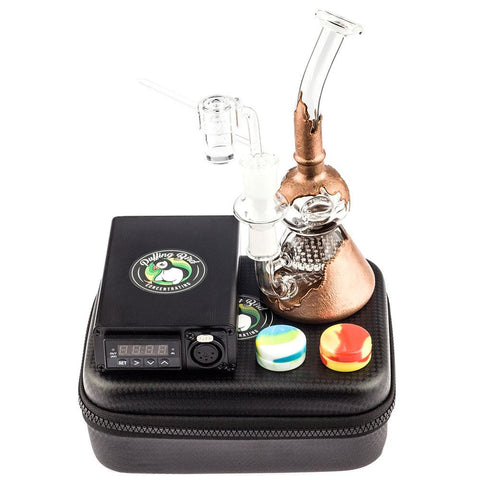 Quartz Enail Kit | Paint Coated Honeycomb Dab Rig | Free Shipping