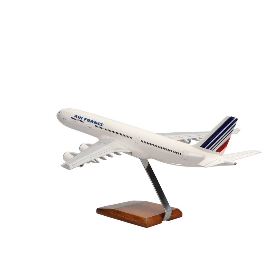 Aircraft Models - Airbus A340-300 Air France Limited Edition Large Mahogany Model