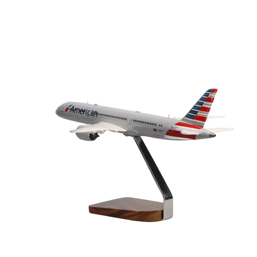 Aircraft Models - American Airlines 787-9 Limited Edition Large Mahogany Model