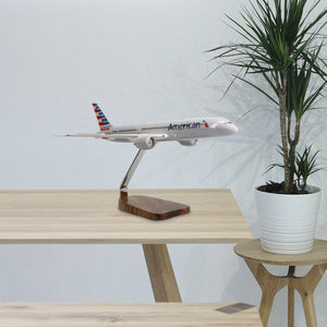Boeing 787-9 American Airlines Limited Edition Large Mahogany Model