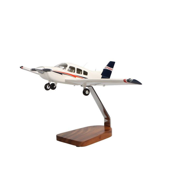 Aircraft Models - ATP Piper Archer TX Clear Canopy Large Mahogany Model