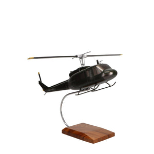 Aircraft Models - Bell UH-1 Iroquois (Huey) Limited Edition Large Mahogany Model