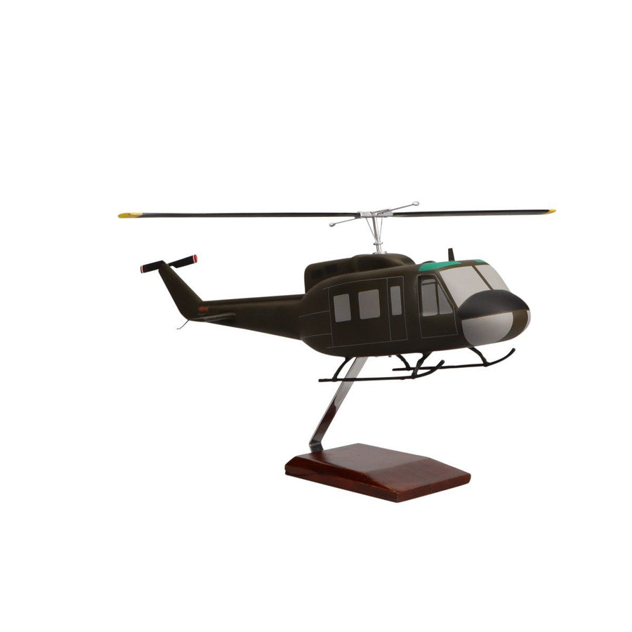 Aircraft Models - Bell UH-1D Iroquois Limited Edition Large Mahogany Model