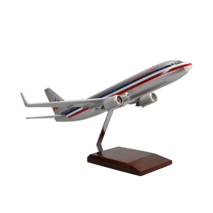 Aircraft Models - Boeing 737-800 American Airlines Limited Edition Large Mahogany Model
