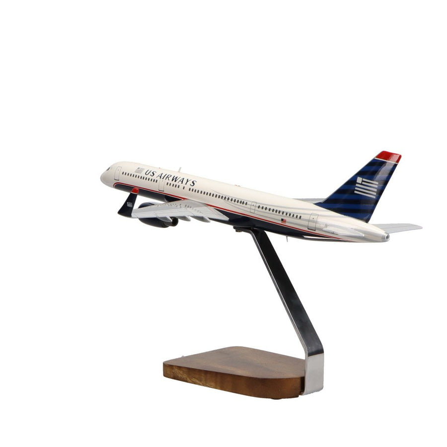 Aircraft Models - Boeing 757-200 US Airways Limited Edition Large Mahogany Model