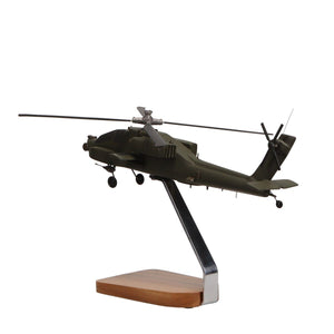 Aircraft Models - Boeing AH-64 Apache Longbow Limited Edition Large Mahogany Model