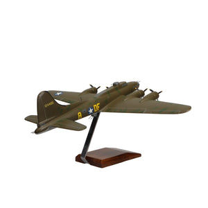 "Aircraft Models - Boeing B-17F Flying Fortress ""Memphis Belle"" Limited Edition Large Mahogany Model"