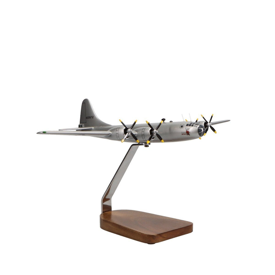 "Aircraft Models - Boeing B-29 Superfortress ""Doc"" Limited Edition Large Mahogany Model"