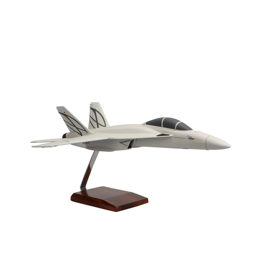 Aircraft Models - Boeing F/A-18E Super Hornet Limited Edition Large Mahogany Model