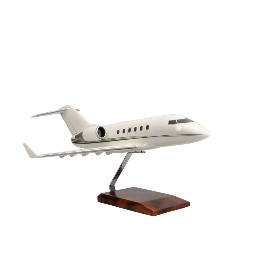 Aircraft Models - Bombardier Challenger 601 Limited Edition Large Mahogany Model