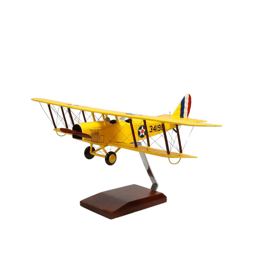Aircraft Models - Curtiss JN-4 Jenny Limited Edition Large Mahogany Model