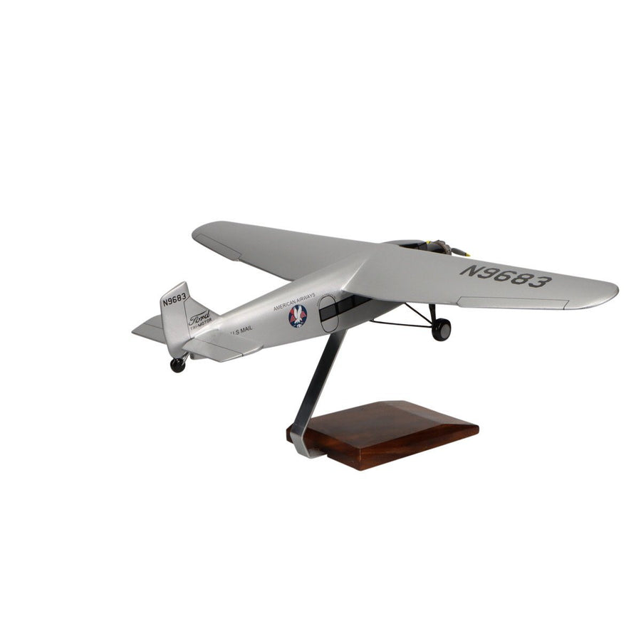 Aircraft Models - Ford 5-AT Tri-Motor Limited Edition Large Mahogany Model
