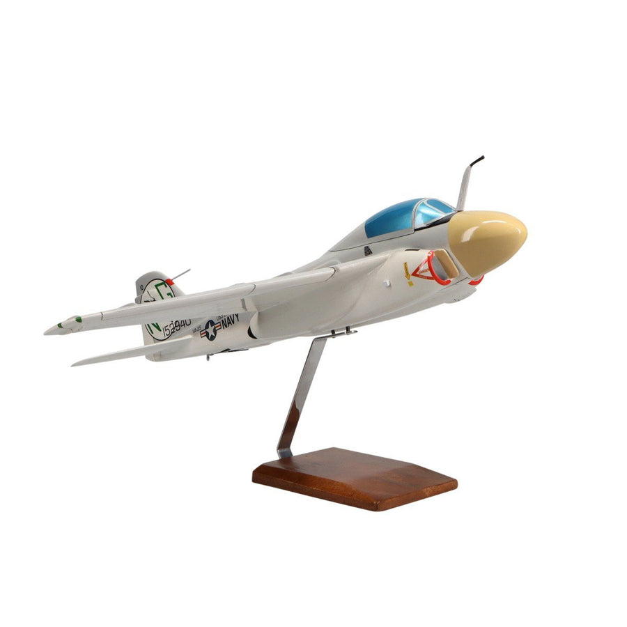 Aircraft Models - Grumman A-6A Intruder Limited Edition Large Mahogany Model