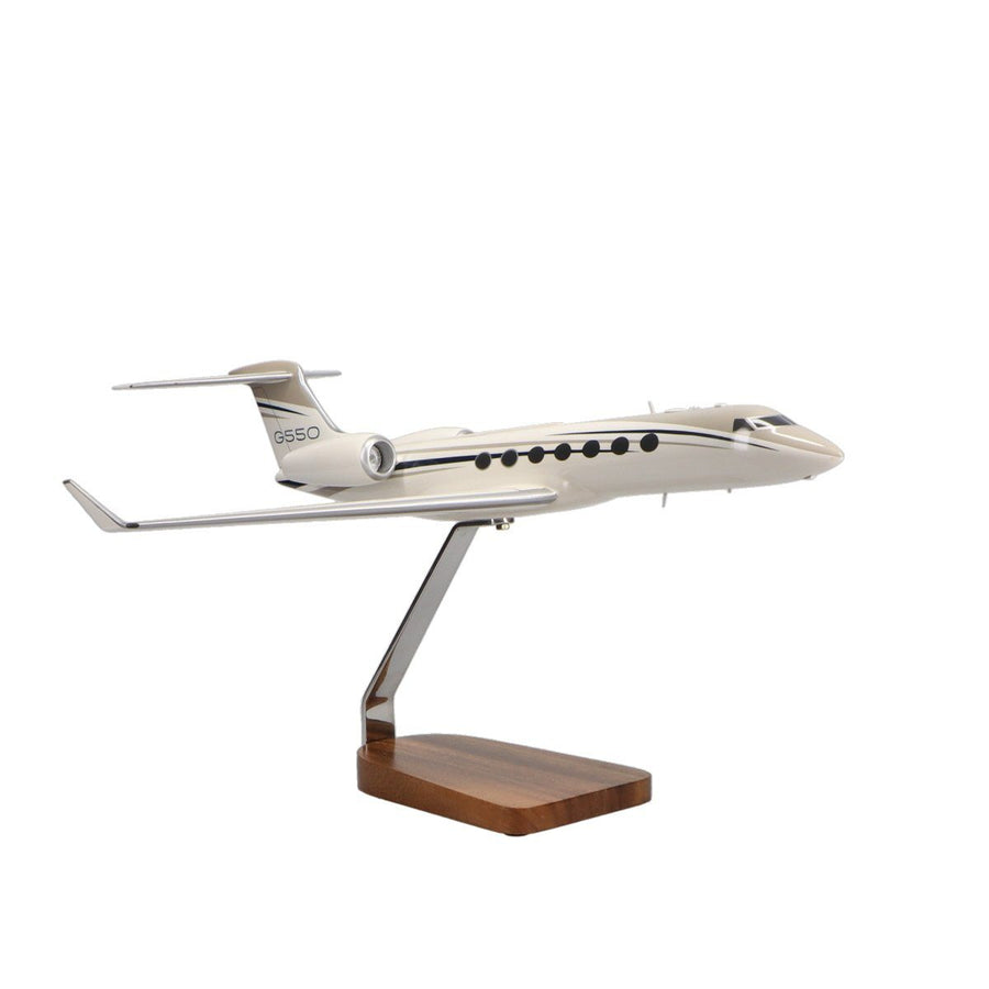 Aircraft Models - Gulfstream G550 Limited Edition Large Mahogany Model